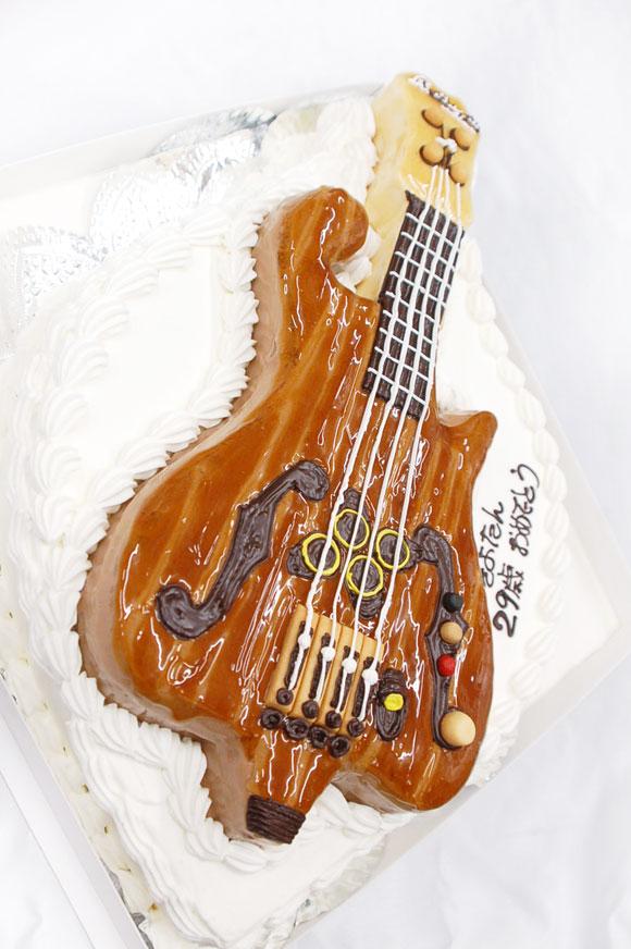 3Dケーキ ギター