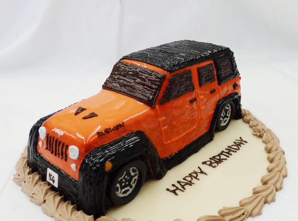 魔法のバースデーケーキ 車のケーキ
