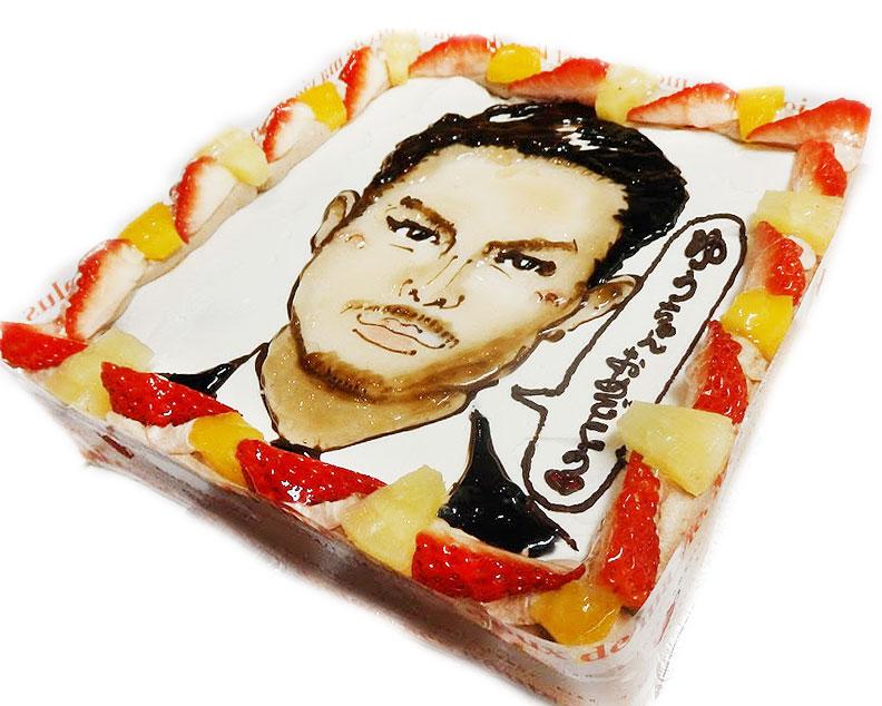 芸能人 似顔絵ケーキ