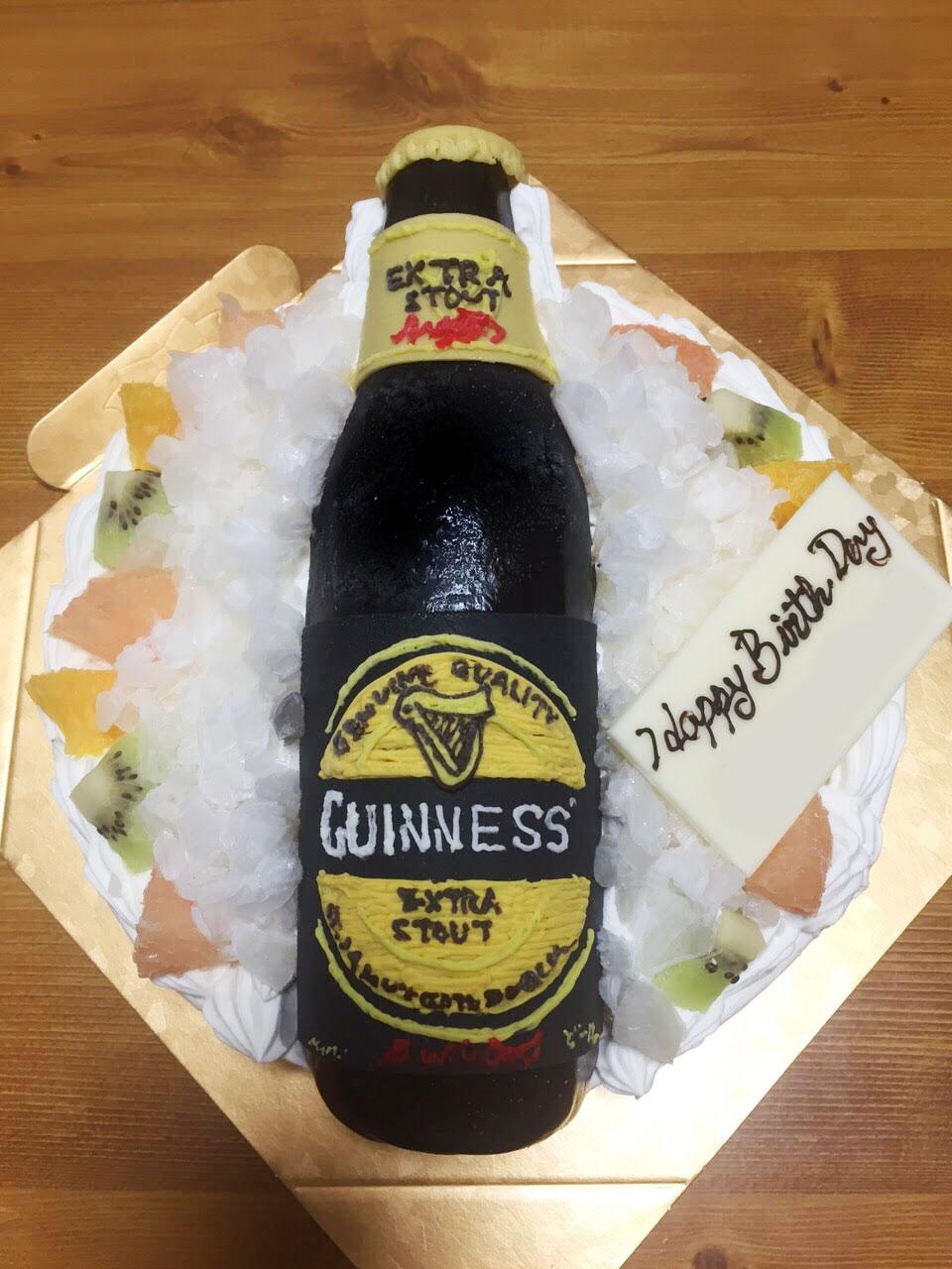 ビールのケーキ オーダー