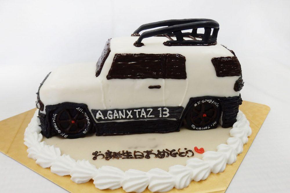 誕生日ケーキ 車のケーキ