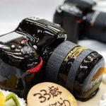 カメラの3D超立体ケーキ