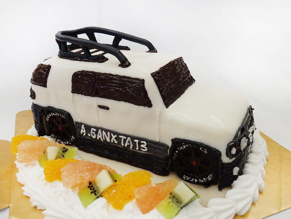 車のオーダーケーキ