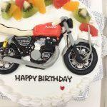 バイクの3Dケーキ1-3
