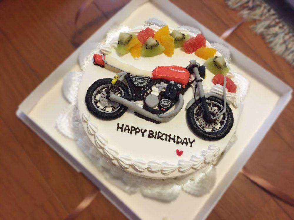バイク3Dケーキ1