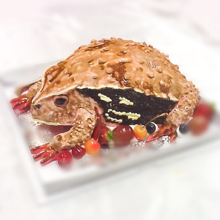 カエルの3Dケーキ-1-3