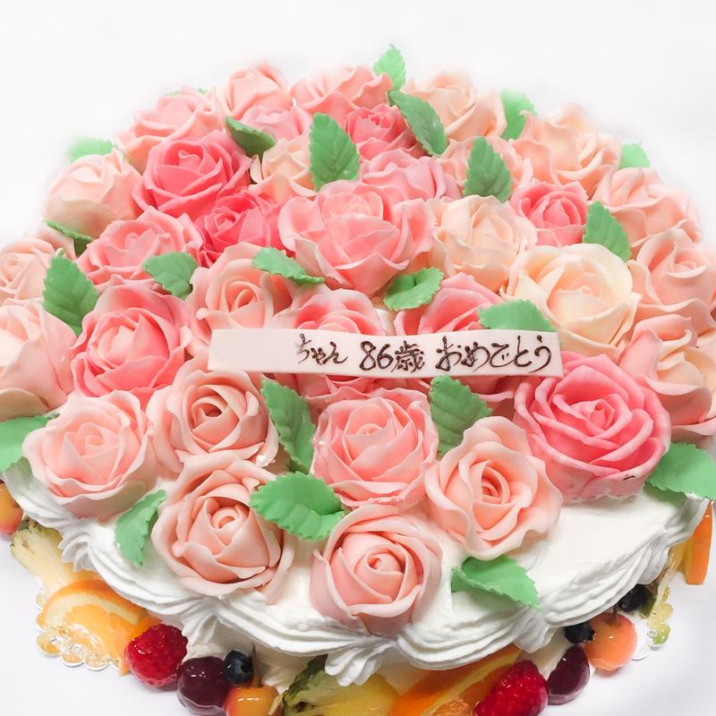 バラのケーキ1000-2