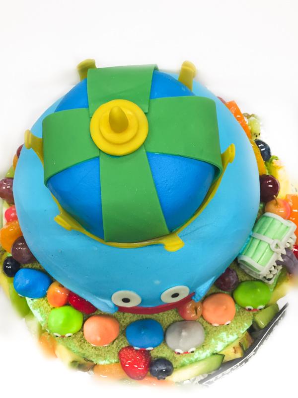 ドラクエ3Dケーキ