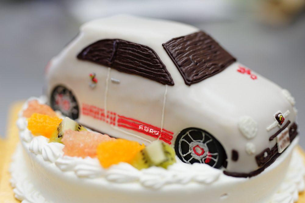 アバルト オーダーケーキ