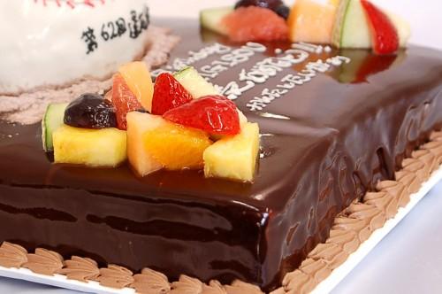 誕生日ケーキ立体