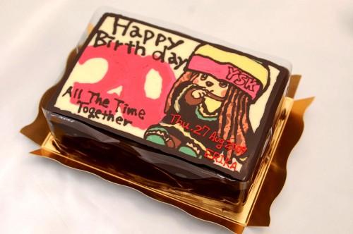 イラストプレートケーキ・通販