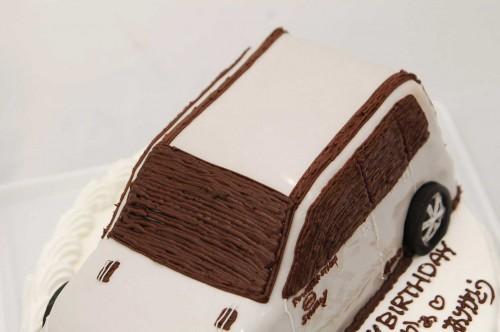 立体ケーキ・車