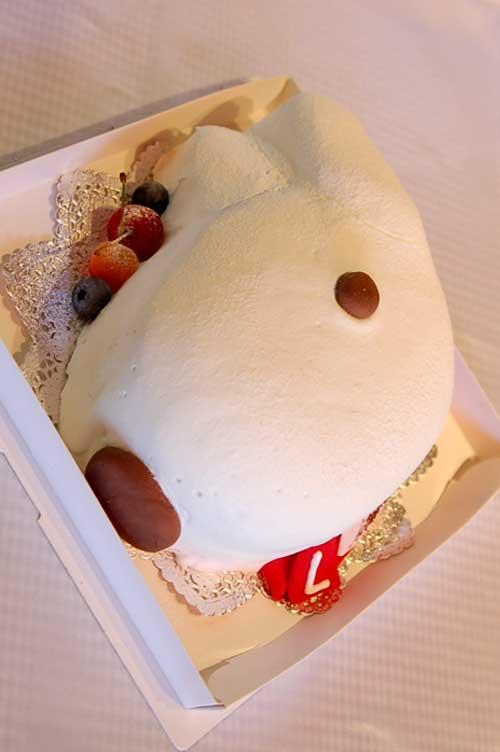 リサとガスパール立体ケーキ