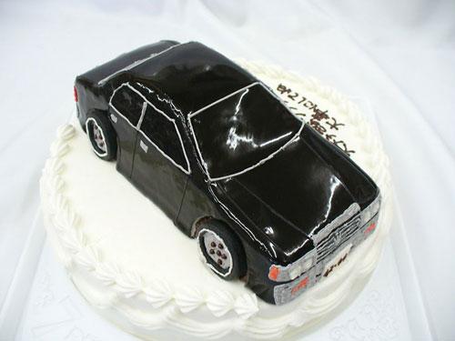 車のケーキ