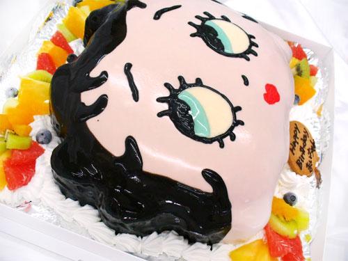 キャラクターケーキ ベティ