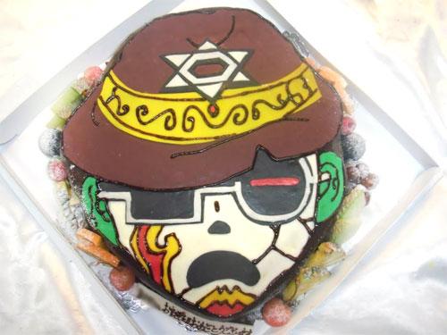 オリジナルキャラクターケーキ