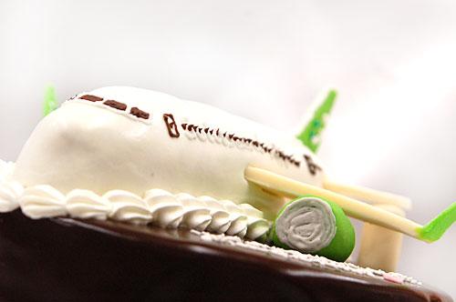 飛行機 ケーキ