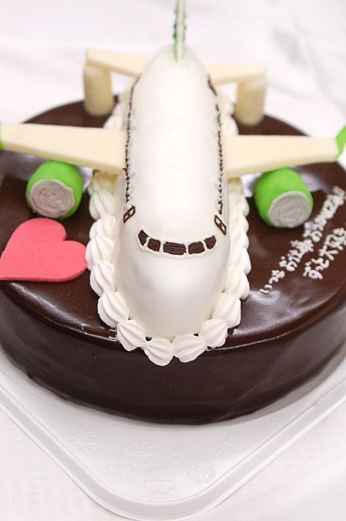 飛行機のケーキ 誕生日