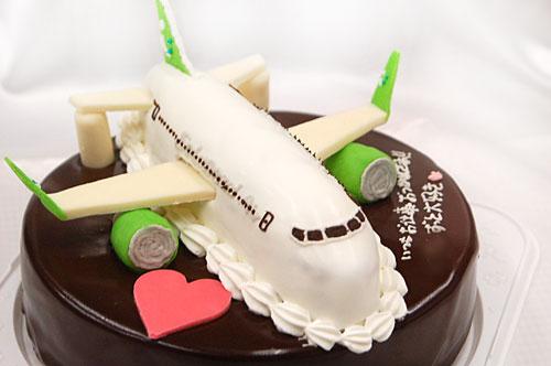 飛行機のケーキ ソラシドエア
