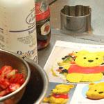 キャラクターケーキの作り方1