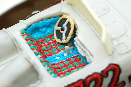 車のケーキ シート