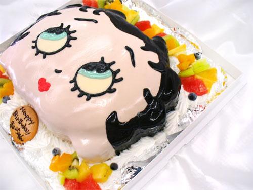 ベティちゃん 立体ケーキ