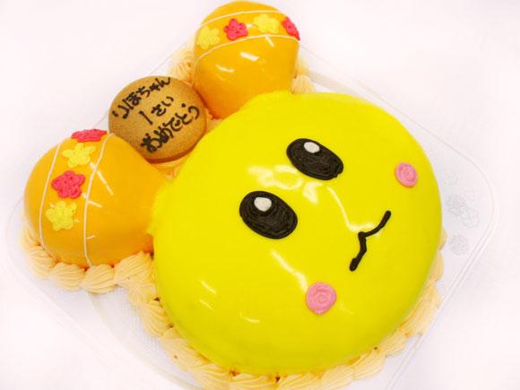 うーたんのキャラクターケーキ