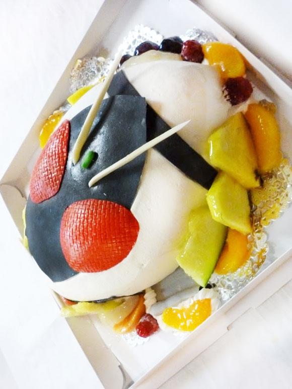 誕生日ケーキ 仮面ライダーフォーゼ