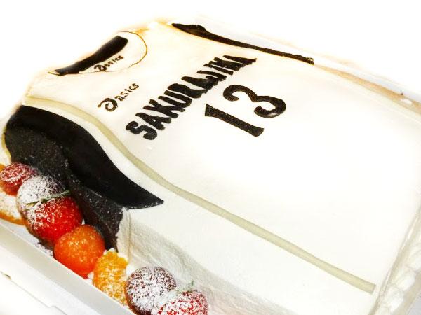 ユニフォーム ケーキ