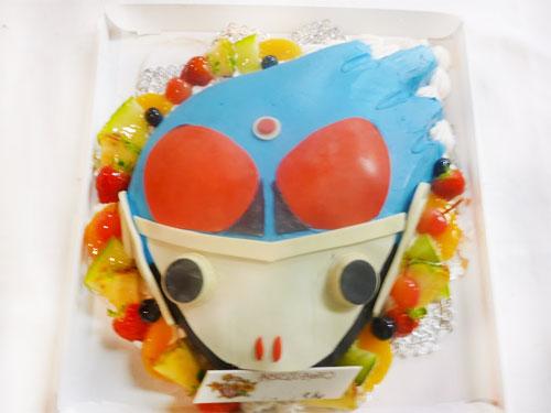 仮面ライダーメテオ立体ケーキ