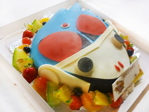 仮面ライダー メテオ キャラクターケーキ