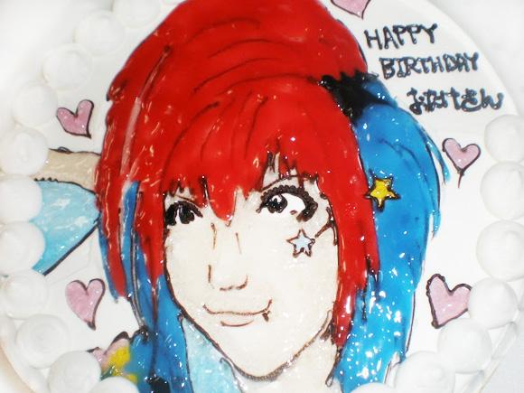 ケーキ 似顔絵