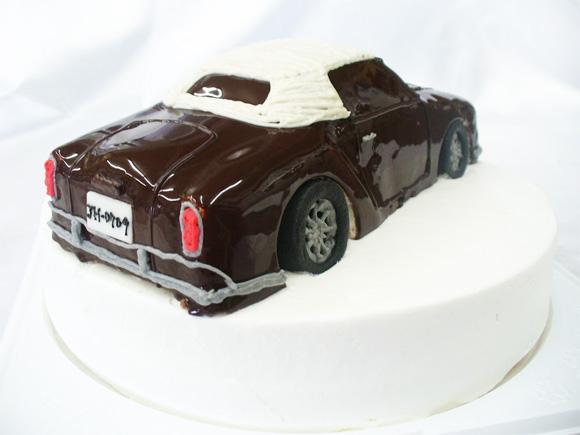 誕生日ケーキ 車