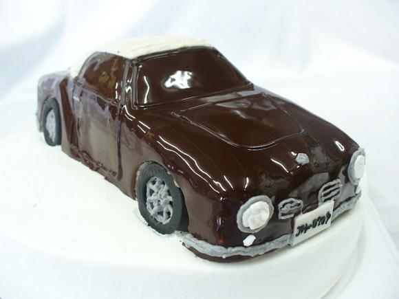 車のケーキ ワーゲン・カルマンギア