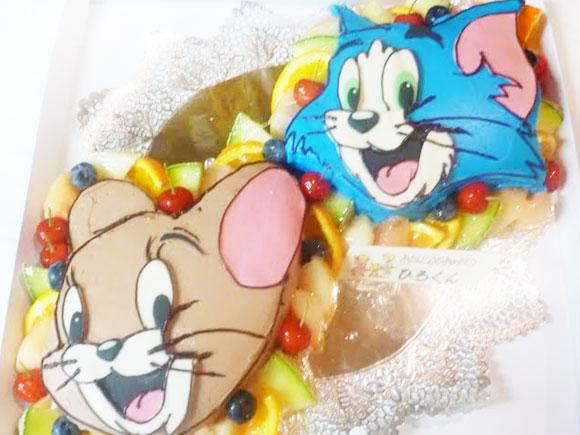 トムとジェリー立体ケーキ