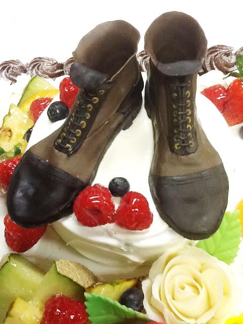 靴 ケーキ