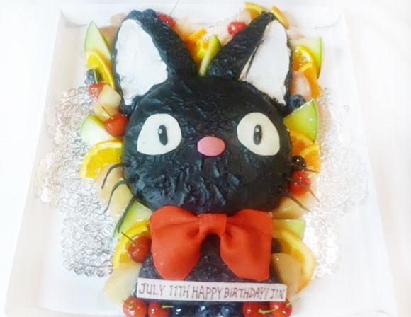 誕生日ケーキ ジジ