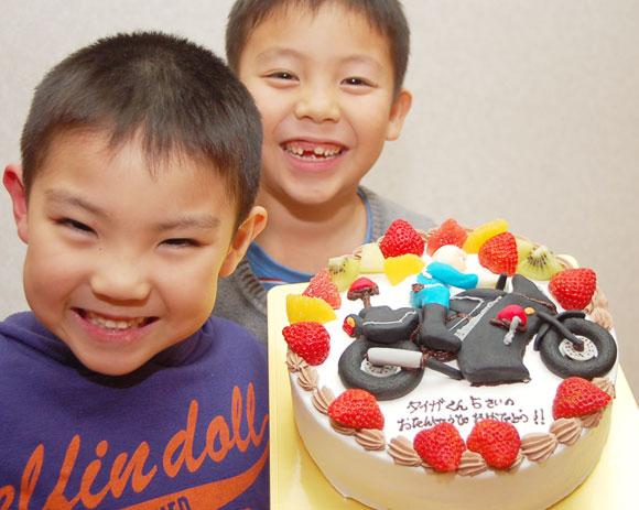 倉石家誕生日ケーキ