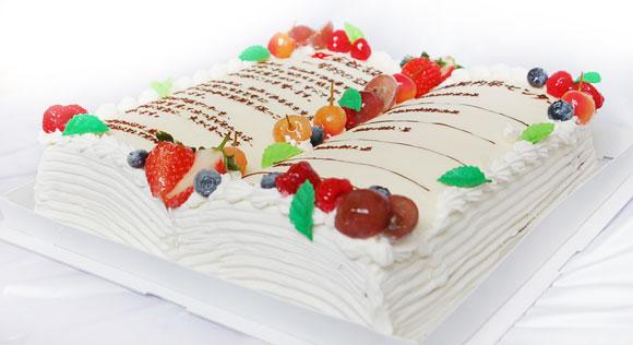 本のケーキ