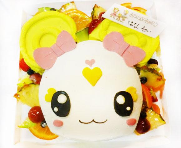 プリキュア・キャンディの誕生日ケーキ