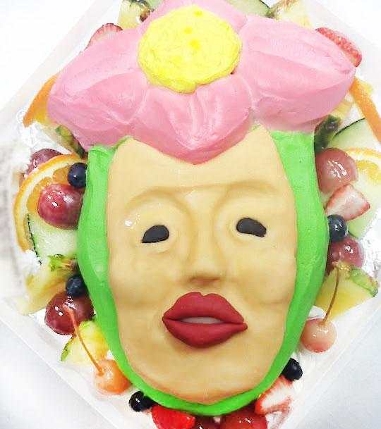 こびとづかん・リトルハナガシラ 誕生日ケーキ