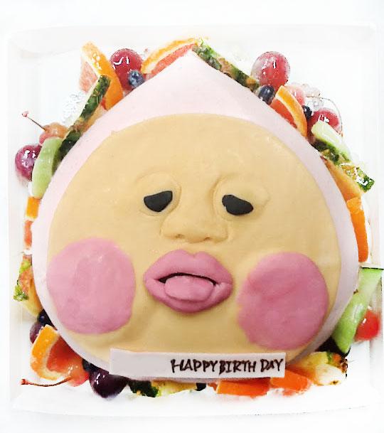 こびとづかん・カクレモモジリ 誕生日ケーキ