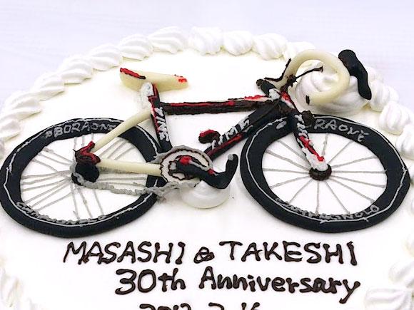 自転車 ケーキ