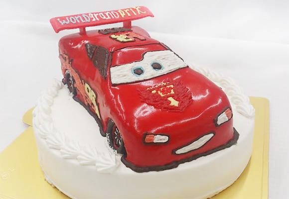 誕生日ケーキ カーズ 3Dケーキ