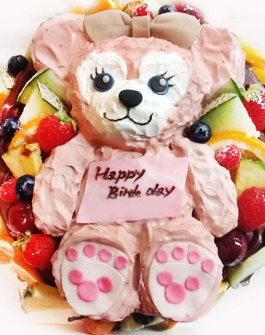 シェリーメイの誕生日ケーキ 3Dケーキ