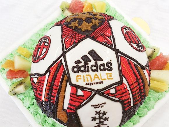 バースデーケーキ サッカーボール