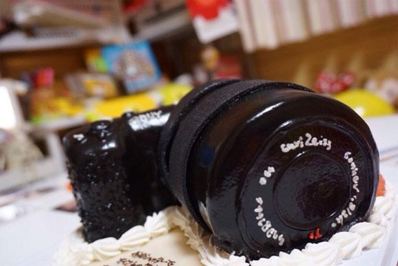 3Dケーキ カメラ