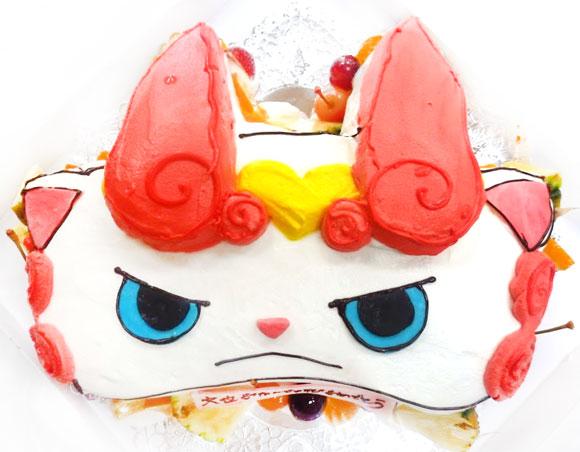 妖怪ウォッチ しゅらコマ立体ケーキ