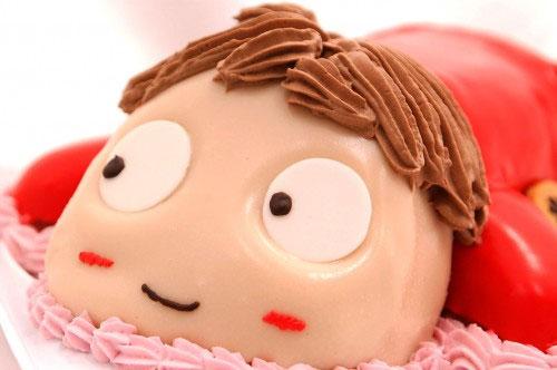 キャラクターケーキ 崖の上のポニョ