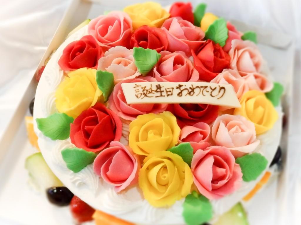 薔薇ケーキ